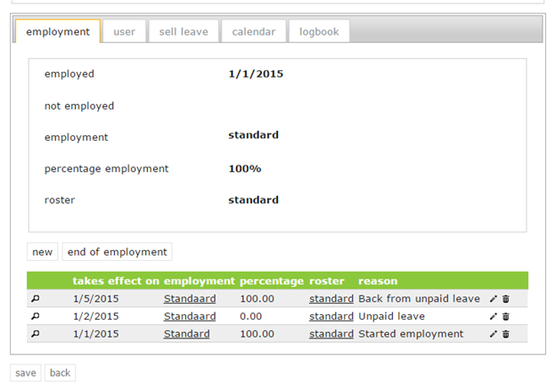 unpaid leave
