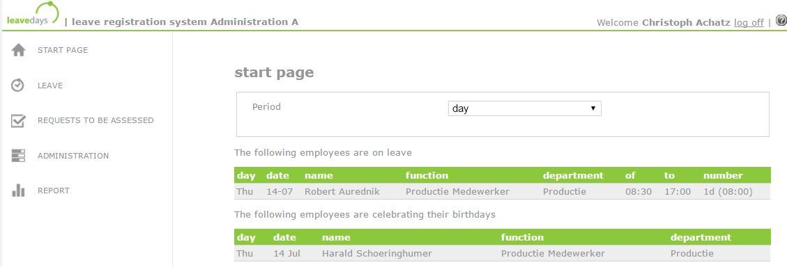 start page manager en